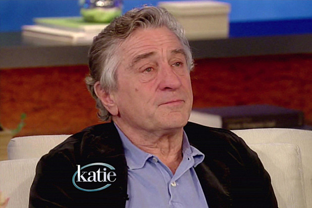 Robert De Niro on Katie