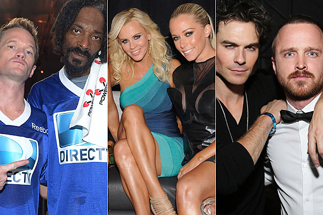 Neil Patrick Harris, Snoop Lion, Jenny McCarthy, Kendra Wilkinson, Ian Somerhalder, Aaron Paul