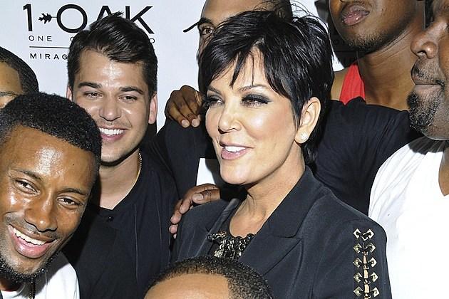 Rob Kardashian Kris Jenner