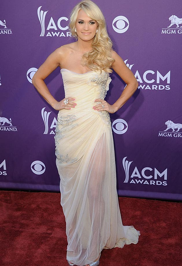 Carrie Underwood Abed Mahfouz White ACMs