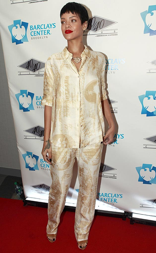 Rihanna Acne PJs