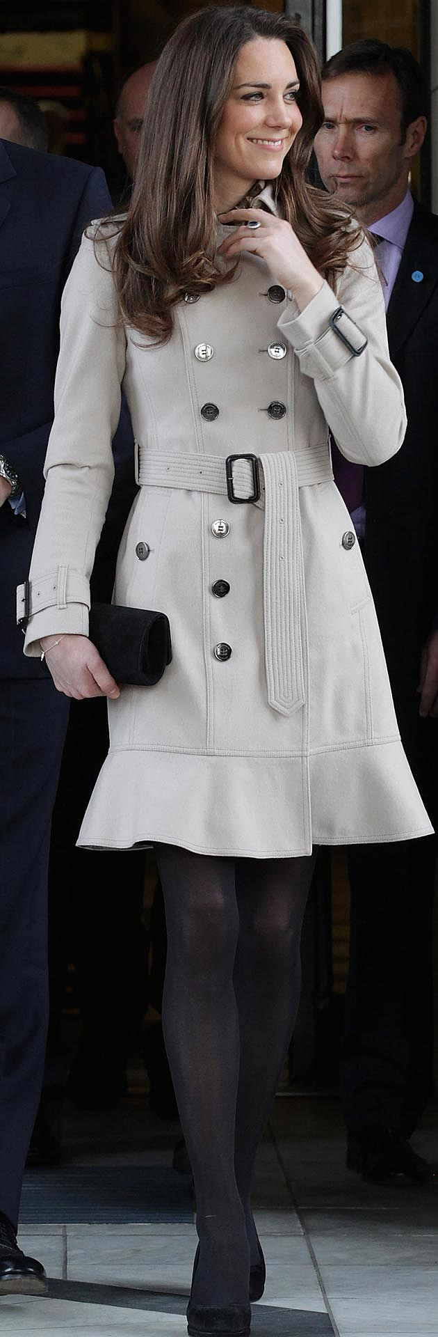 Kate Middleton Burberry Trench