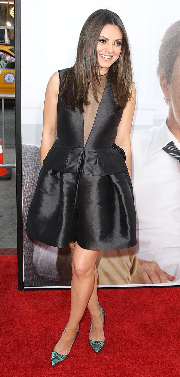 Mila Kunis Ted Premiere Dior Peplum