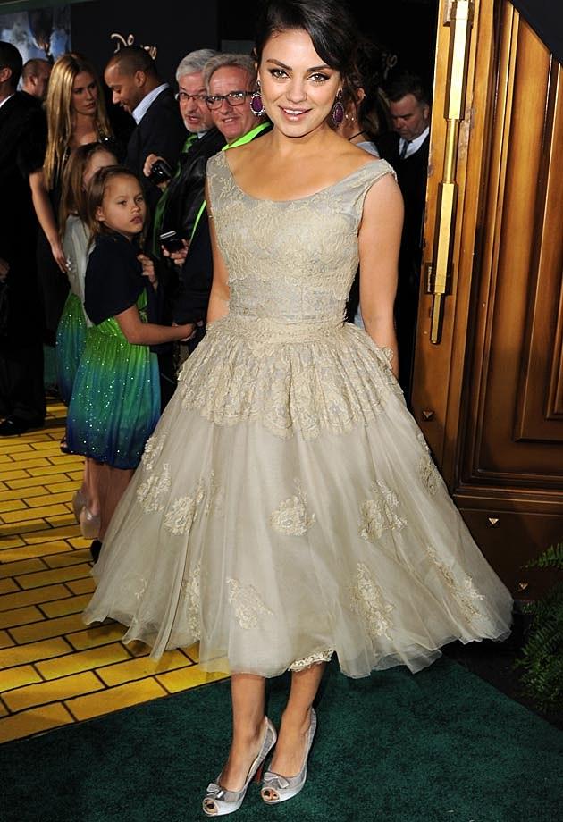 Mila Kunis Dolce Gabbana Oz 2012