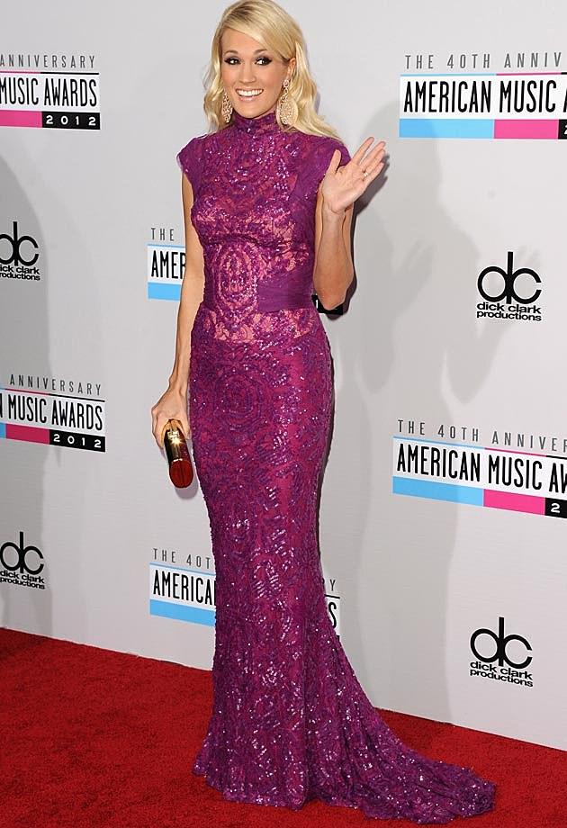 Carrie Underwood Eggplant Abed Mahfouz AMAs