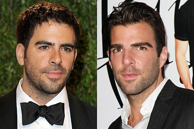 eli roth zachary quinto � celebrity doppelgangers