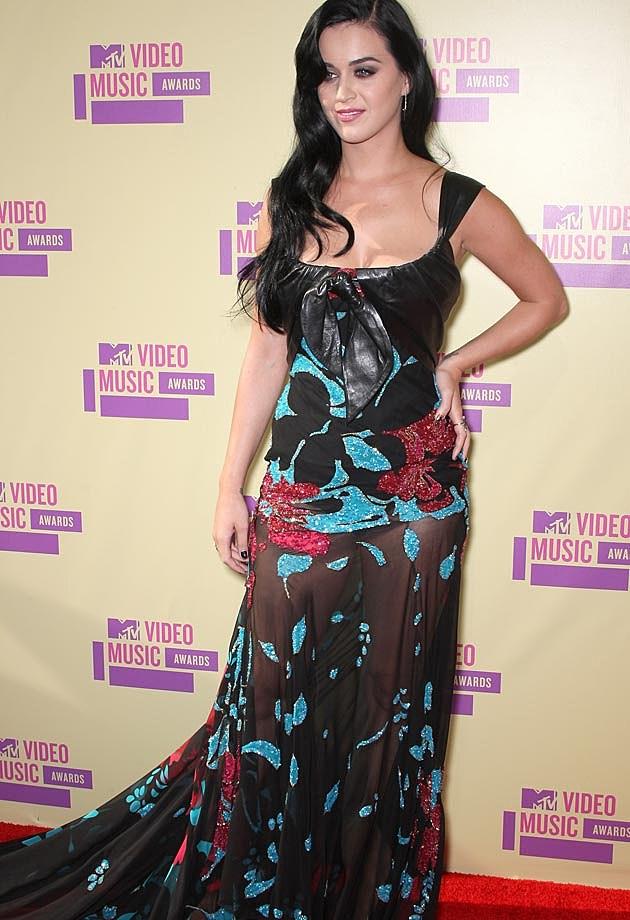 Katy Perry Elie Saab VMAs 2012