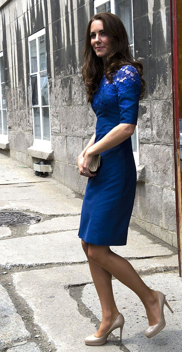 Kate Middleton Blue Erdem