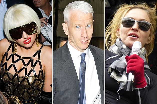 Lady Gaga Anderson Cooper Madonna