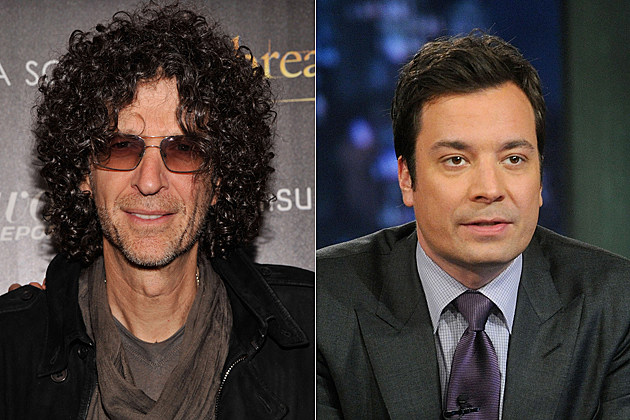 Howard Stern Jimmy Fallon