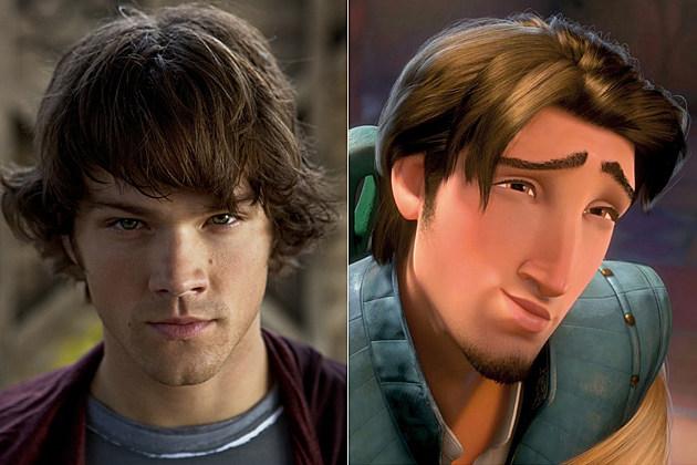 - Jared-Padelecki-Sam-Winchester-Flynn-Rider