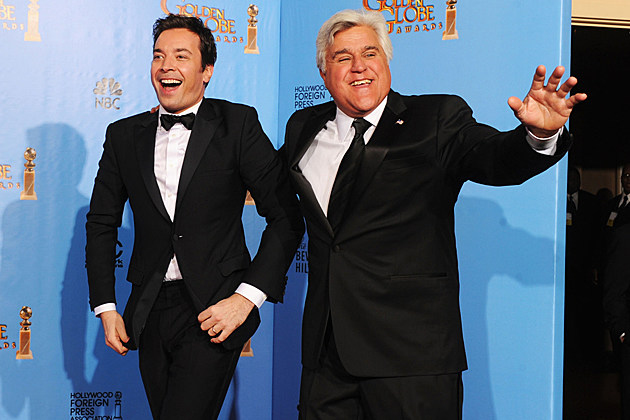 Jimmy Fallon Jay Leno