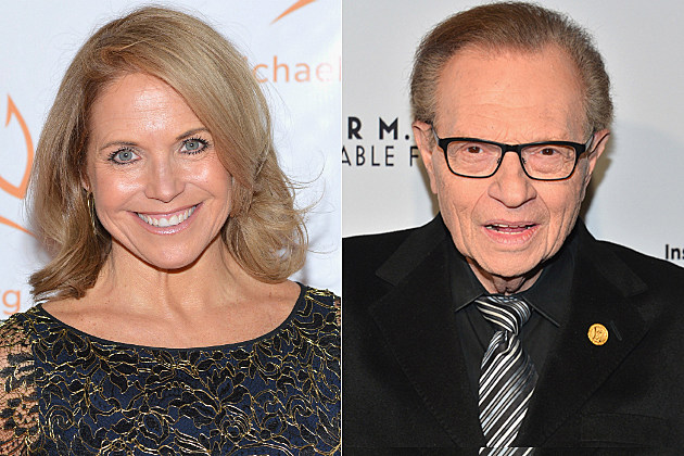 Katie Couric Larry King