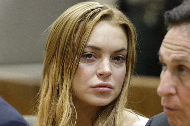 Lindsay Lohan took a plea deal to go to rehab instead of jail.