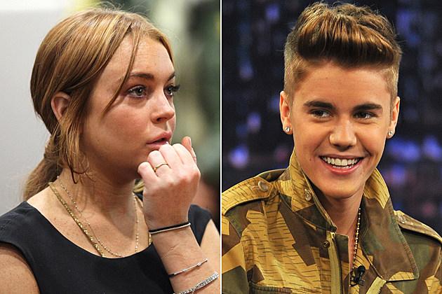 Lindsay Lohan Justin Bieber