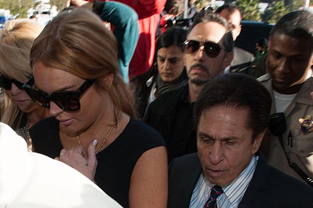 Lindsay Lohan Mark Heller
