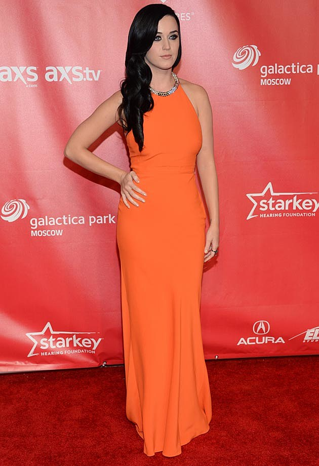 Katy Perry Orange McQueen