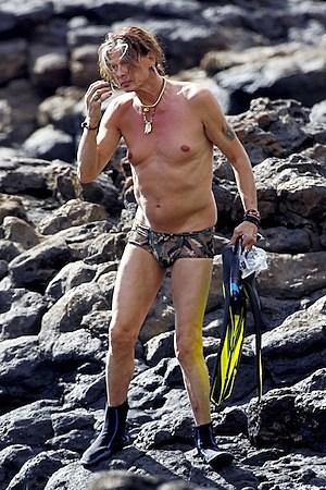 Steven Tyler Bathing Suit
