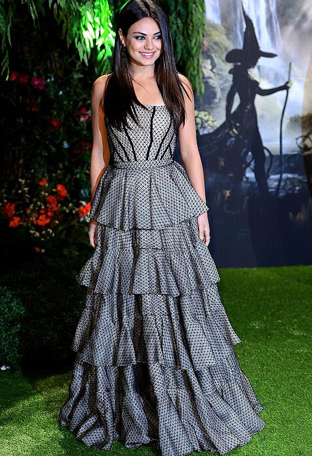 Mila Kunis Alexander McQueen