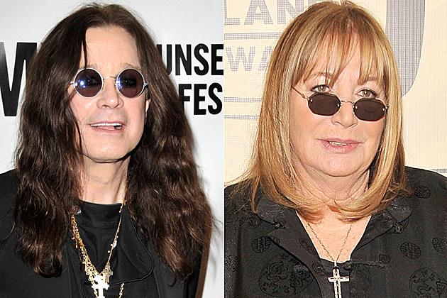 Ozzy Osbourne Penny Marshall