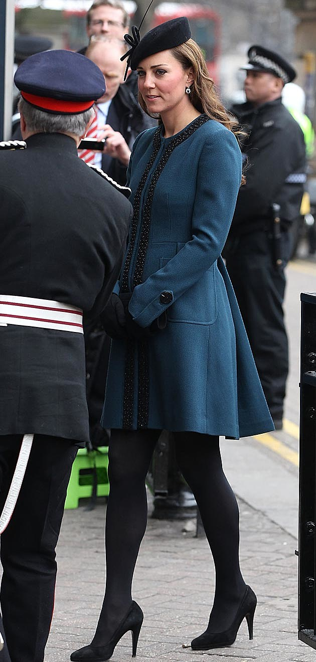 Kate Middleton Peacock Coat