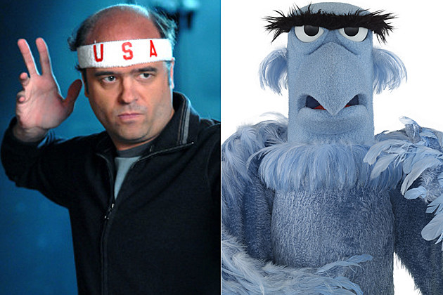 Pete Hornberg Scott Adsit Sam the Eagle