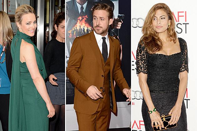 Rachel McAdams Ryan Gosling Eva Mendes