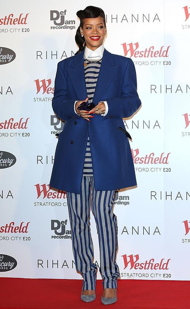 Rihanna Raf Simons Acne Menswear