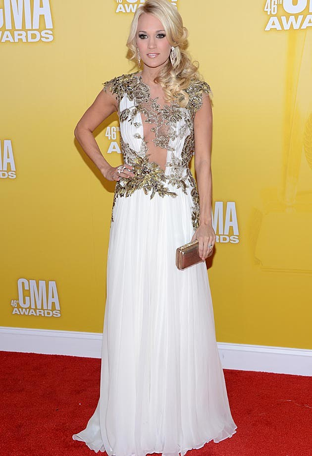Carrie Underwood Reem Acra CMAs