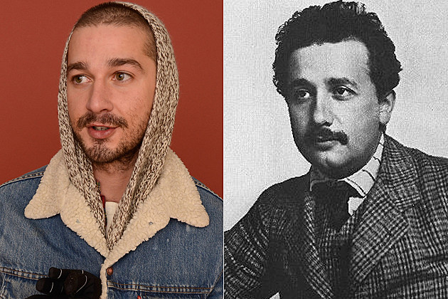 Shia LaBeouf + Young Albert Einstein – Celebrity Doppelgangers