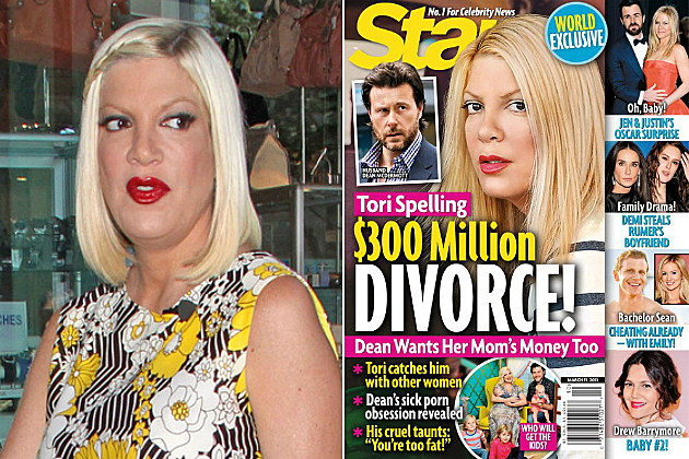 Tori Spelling is all kinds of mad at Star Magazine for telling her kids she's getting divorced.