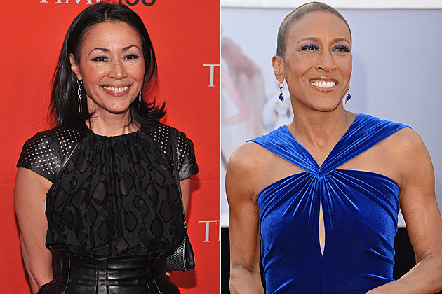 Ann Curry Robin Roberts