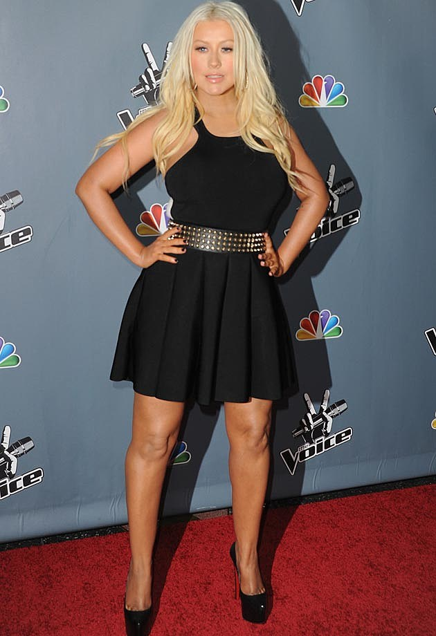 Christina Aguilera Season 4 The Voice Premiere