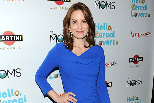 Tina Fey at the Moms And MARTINI party