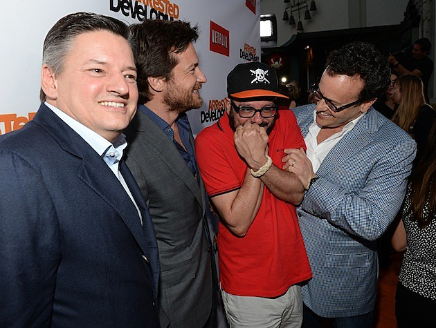 Ted Sarandos Jason Bateman David Cross Mitchell Hurwitz