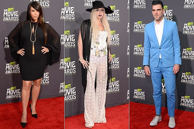 2013 MTV Movie Awards Worst Dressed