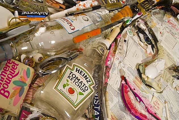 Jason Mecier Lindsay Lohan Garbarge Art