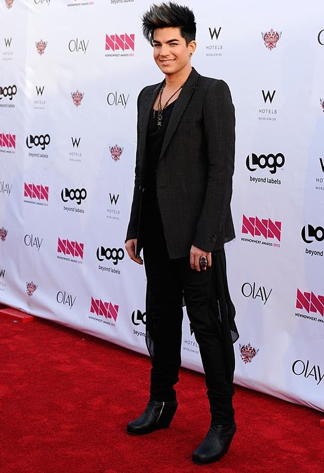 Adam Lambert All Black