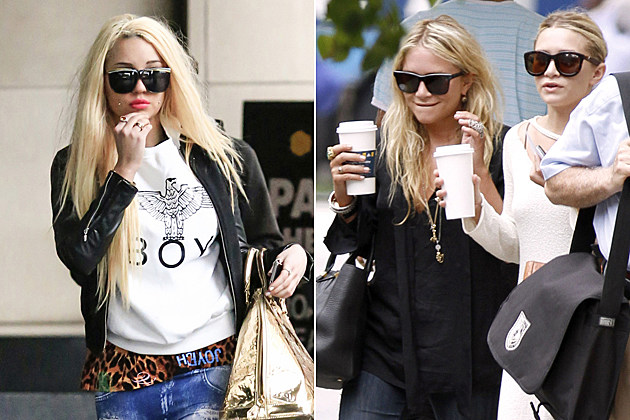 Amanda-Bynes-Olsen Twins