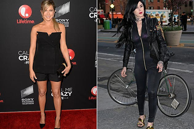 Jennifer Aniston Kat Von D Best Worst of the Week