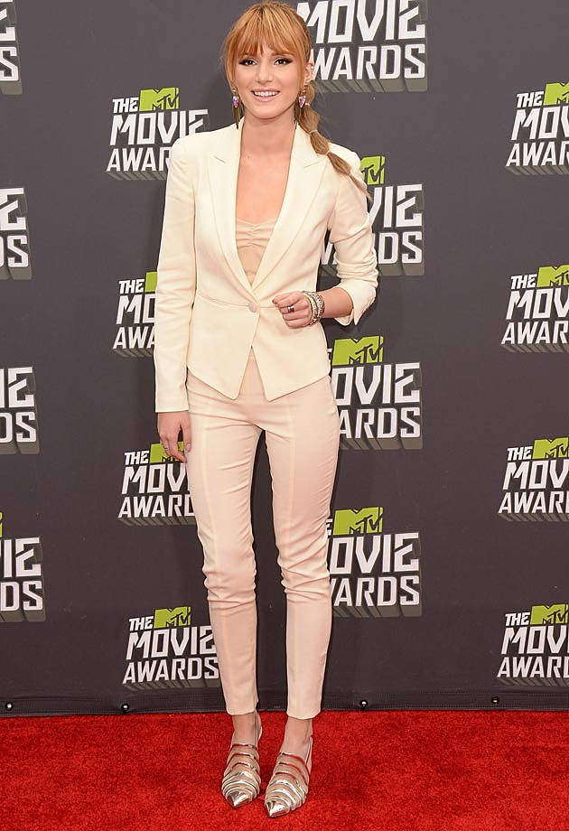 Bella Thorne Emporio Armani 2013 MTV Movie Awards