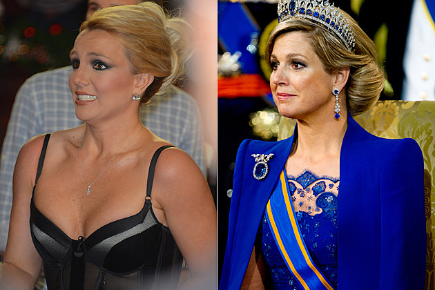Britney Spears Queen Maxima