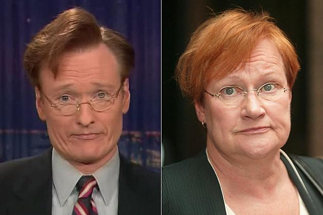 Conan O'Brien Tarja Halonen