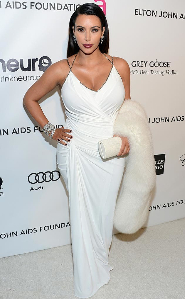 Kim Kardashian White Donna Karan