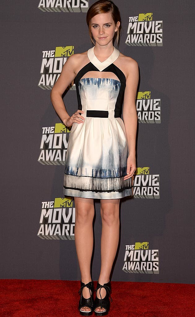 Emma Watson Maxine Simoens 2013 MTV Movie Awards