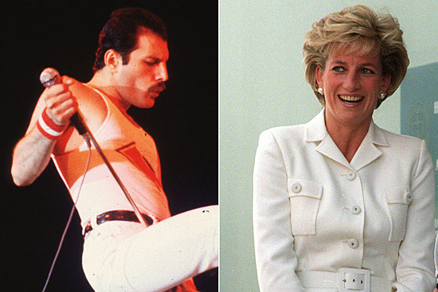Freddie Mercury Princess Diana