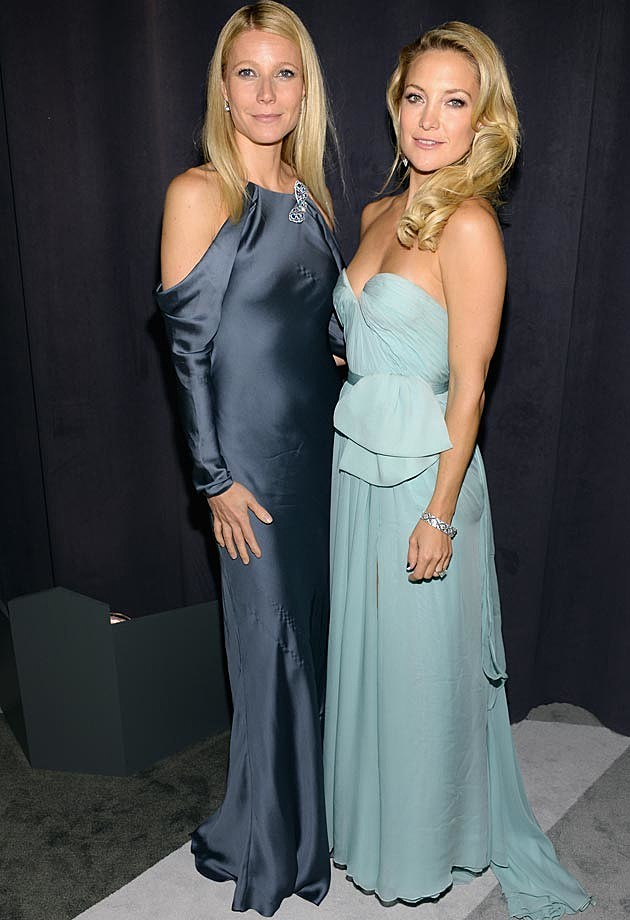 Gwyneth Paltrow Kate Hudson Tiffany Blue Book Ball