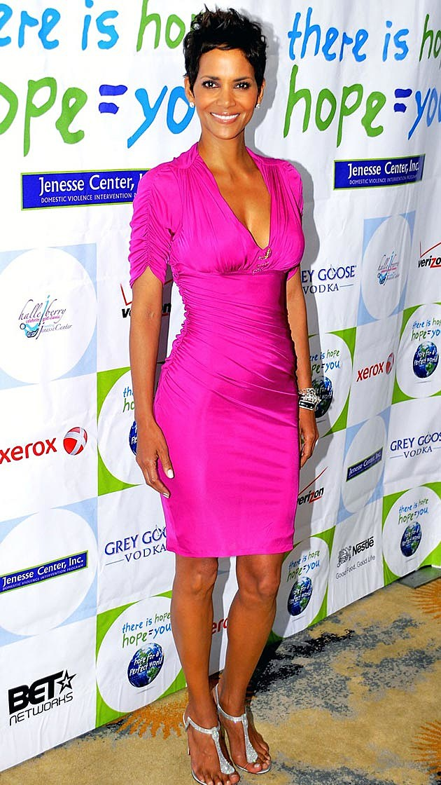 Halle Berry Hot Pink