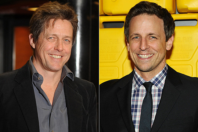 Hugh Grant Seth Meyers