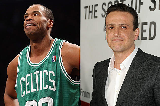 Jason Collins and Jason Segel